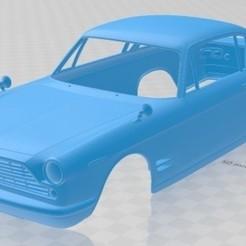 foto 1.jpg Télécharger fichier STL Fiat 2300 S Coupé 1961 Carrosserie imprimable • Design pour impression 3D, hora80