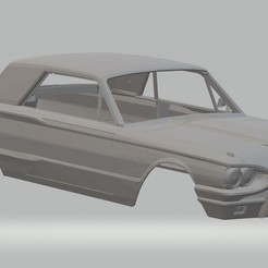Imprimir en 3D Thunderbird 1964 Printable Body Car, hora80