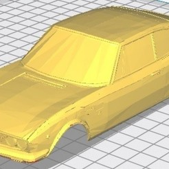 Descargar STL Fiat Dino Copue Printable Body Car, hora80