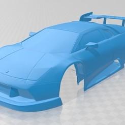 Download 3D printer templates Lamborghini Diablo GTR Printable Body Car, hora80