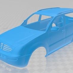 Descargar modelos 3D para imprimir Ssangyong Rexton Printable Body Car, hora80