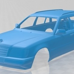 foto 1.jpg Télécharger fichier STL Mercedes Benz E Class Wagon 1993 Printable Body Car • Plan pour imprimante 3D, hora80