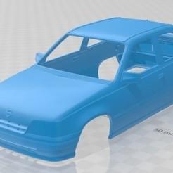 Descargar diseños 3D Opel Kadett 3 Door 1991 Printable Body Car, hora80