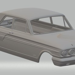 Imprimir en 3D Fairlane Thunderbolt 1964 Printable Body Car, hora80