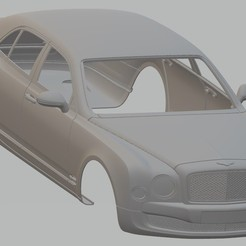 Descargar archivos 3D Bentley Arnage 2010 Printable Body Car, hora80