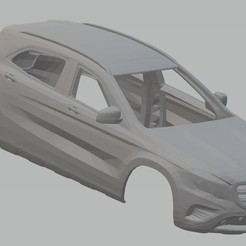 foto 1.jpg Download STL file Mercedes Benz GLA 2016 Printable Body Car • 3D printing object, hora80