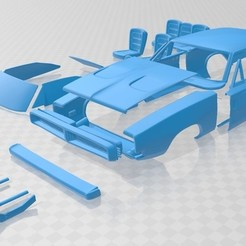 Download 3D printing files General Lee 1969 Printable Car, hora80