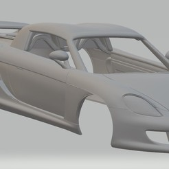 Download 3D printer designs Porsche V10 Carrera GT Printable Body Car, hora80