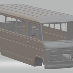Descargar modelos 3D para imprimir Mercedes Benz 309 Mini Bus, hora80