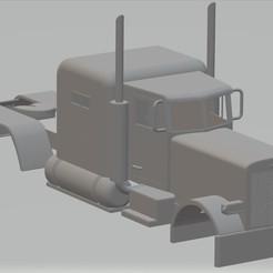 Télécharger objet 3D Peterbilt 359 Camionnette imprimable, hora80