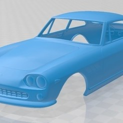 foto 1.jpg Download STL file 1965 Ferrari 330 GT Printable Body Car • 3D print template, hora80