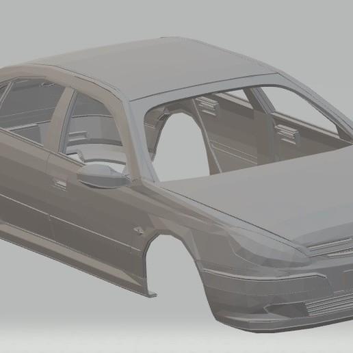 Download STL Peugeot 607 Printable Body Car, hora80