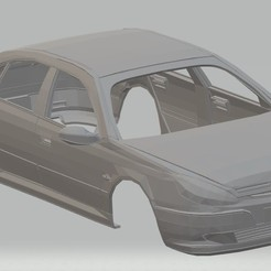 foto 1.jpg Download STL file Peugeot 607 Printable Body Car • Object to 3D print, hora80