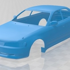 foto 1.jpg Download STL file Toyota Mark II (X90) 1992 Printable Body Car • 3D printing object, hora80