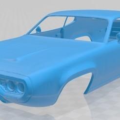 foto 1.jpg Download STL file Plymouth Satellite 1971 Printable Body Car • 3D printer object, hora80