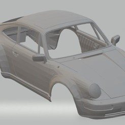 Download 3D printing models Porsche 911 - 1983 Printable Body Car, hora80