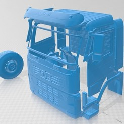 foto 1.jpg Download STL file Volvo FM Truck 2010 Printable Truck • 3D printing design, hora80
