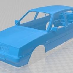 Download 3D printer templates Lancia Prisma Printable Body Car, hora80