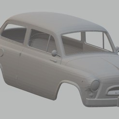 Imprimir en 3D ZAZ 965 Printable Body Car, hora80