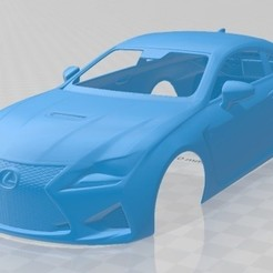foto 1.jpg Download STL file Lexus RC F 2015 Printable Body Car • 3D print design, hora80