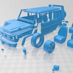 Descargar diseños 3D Mercedes Benz G 2011 Printable Car, hora80