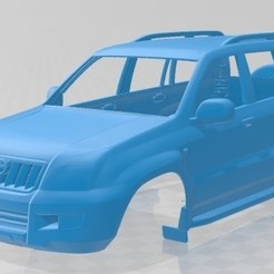 foto 1.jpg Download STL file Toyota Land Cruiser Prado 120 5 Door 2009 Printable Body Car • 3D print template, hora80
