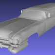 Download 3D printing templates Miller - Meteor - Ecto-1 1959 - Ghostbusters Printable 3D Body Car, hora80