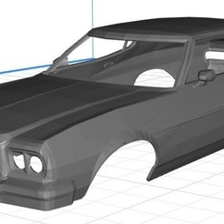 Descargar STL Gran Torino Starsky Hutch Printable Body Car, hora80