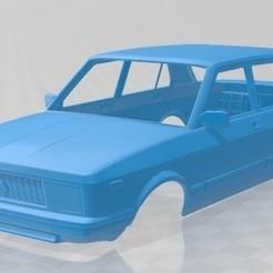 foto 1.jpg Télécharger fichier STL Fiat Argenta 1981 Carrosserie imprimable • Objet pour imprimante 3D, hora80