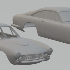 foto 1.jpg Télécharger fichier STL Ferrari 250 Lusso Carrosserie Imprimable Ferrari • Design à imprimer en 3D, hora80