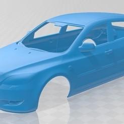 foto 1.jpg Télécharger fichier STL Carrosserie imprimable de la Mazda 3 Hatchback 2003 • Plan pour impression 3D, hora80