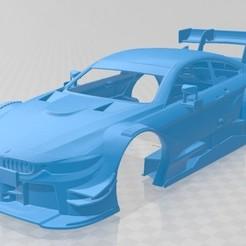 foto 1.jpg Download STL file M4 DTM 2015 Printable Body Car • 3D printable model, hora80