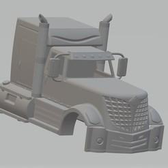 Descargar archivos 3D Lonestar Printable Cabin Truck, hora80