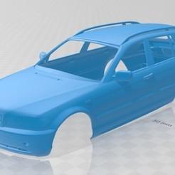 Descargar archivo 3D E46 Touring 2001 Printable Body Car, hora80