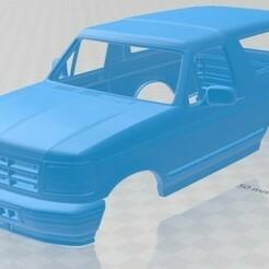 Ford Bronco 1992-1.jpg Download STL file Bronco 1992 Printable Body Car • 3D printing object, hora80
