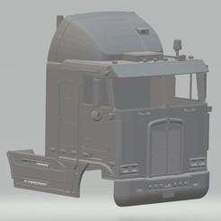 Impresiones 3D Kenworth K100 Printable Body Cab, hora80