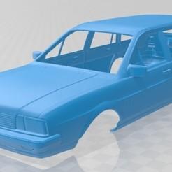 foto 1.jpg Télécharger fichier STL Volkswagen Passat Variant 1980 Carrosserie imprimable • Plan pour impression 3D, hora80