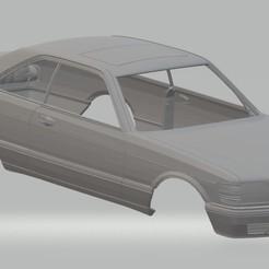 Descargar archivos 3D Mercedes 560 sec Printable Body Car, hora80