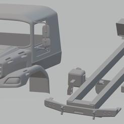 Télécharger fichier STL Camion imprimable Mercedes Zetros, hora80
