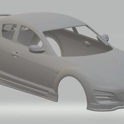 foto 1.jpg Télécharger fichier STL Mazda RX-8 Véhicule à carrosserie imprimable • Objet à imprimer en 3D, hora80