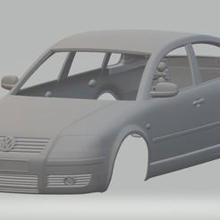Descargar modelos 3D Volkswagen Passat Printable Body Car, hora80
