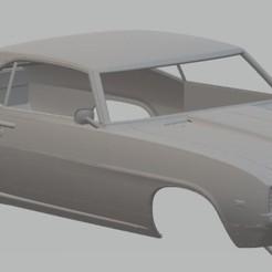 Descargar modelo 3D Camaro 1962 Printable Body Car, hora80
