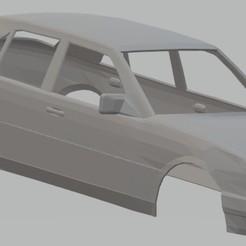 Download 3D model Mercedes Benz W124 E300 Printable Body Car, hora80