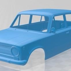foto 1.jpg Download STL file Fiat 124 1966 Printable Body Car • 3D printable object, hora80