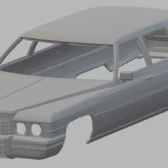 Download 3D model Fleetwood 1975 Printable Body Car, hora80