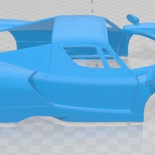 Download 3D Printing Files Ferrari Enzo F60 Printable Body