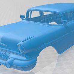 foto 1.jpg Télécharger fichier STL Voiture à carrosserie imprimable Star Chief Custom 1957 • Objet à imprimer en 3D, hora80