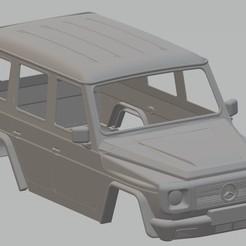 Download STL file Mercedes Benz G Printable Body Car, hora80