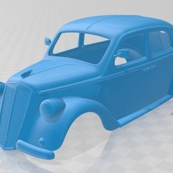 foto 1.jpg Download STL file Lancia Ardea 1939 Printable Body Car • 3D print model, hora80