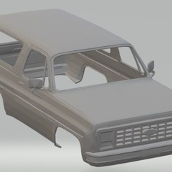 Imprimir en 3D Bronco Printable Body Car, hora80